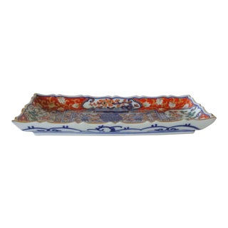 Japanese Imari Rectangle Dish