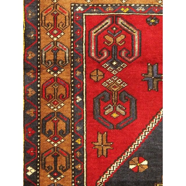 Vintage Turkish Kilim Rug - 3′8″ × 6′3″ - Image 2 of 3