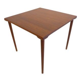 Teak Side Table by Peter Hvidt and O. Molgaard-Nielsen