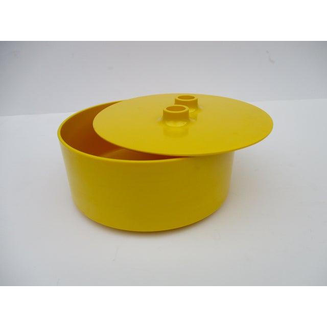 Massimo Vignelli Yellow Melamine Salad Bowl - Image 6 of 11