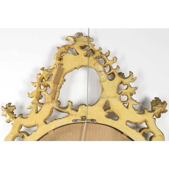 French Louis XV Style Carved Giltwood Antique Mirror - Image 10 of 10