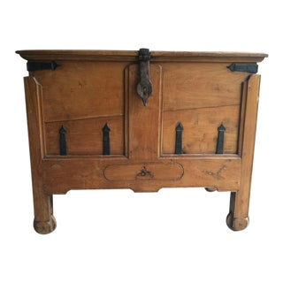 18th Century Anglo-Indian Damchiya Dowry Chest