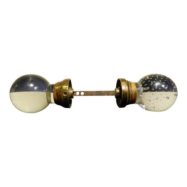 1930s murano glass door knobs a pair chairish for 1930s door handles