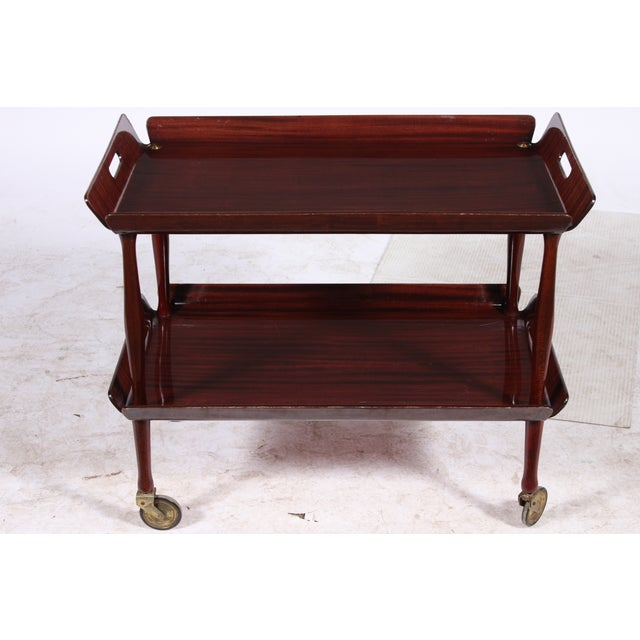 Image of Mid-Century Butlers Tray Bar Cart