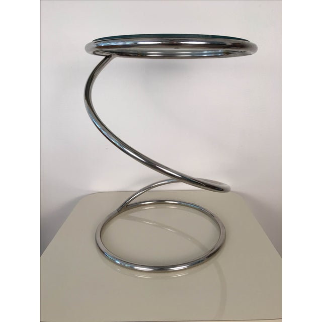 Leon Rosen for Pace Spiral Side Table - Image 3 of 7