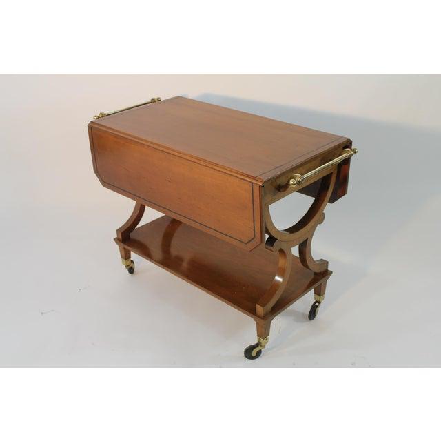 Kaplan Furniture Beacon Hill Serving Cart - Image 2 of 5