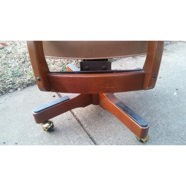 Image of Vintage Jasper Spring Base Swivel Office Chair