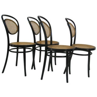 Michael Thonet A6658 Bentwood Side Chair - S/4