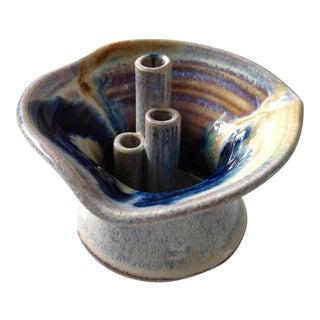 Studio Pottery Ikebana Vase