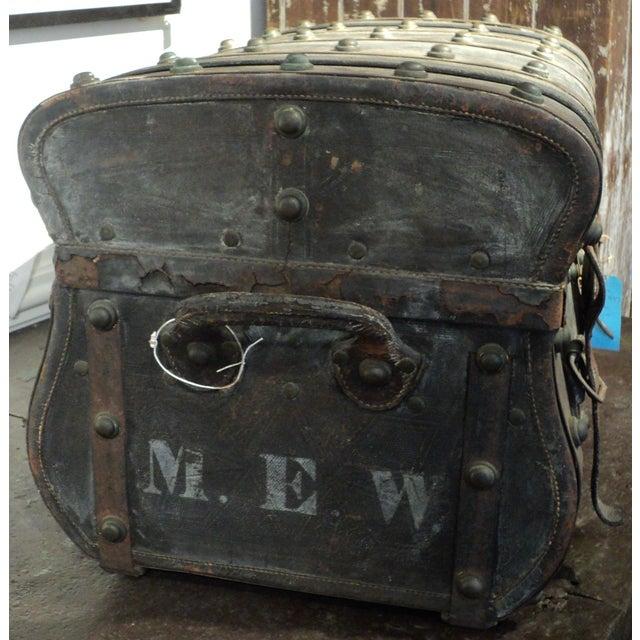 Antique Storage Trunk - Image 4 of 11