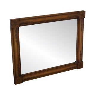 Hitchcock Stenciled Maple Rectangular Wall Mirror