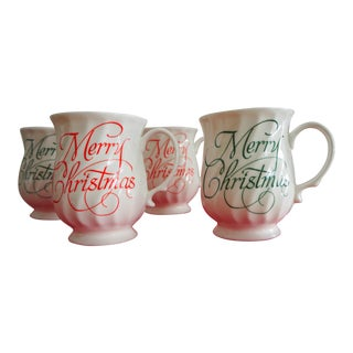 Hitkari Merry Christmas Mugs - Set of 4