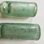 Image of Antique Marble Medicine Bottles - A Pair