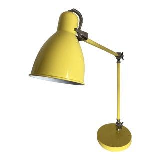 Industrial Yellow Task Lamp