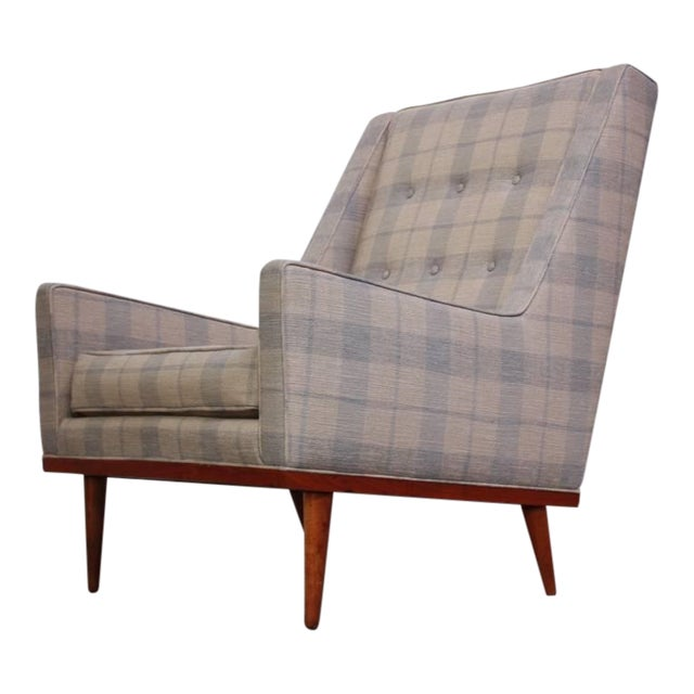 Milo Baughman for James Inc. 'King' Chair - Image 1 of 8