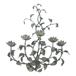 French Shabby Chic Candle Wall Sconce