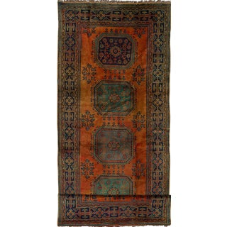 "Vintage Anadol Turkish Rug - 4'11"" x 12'6"""