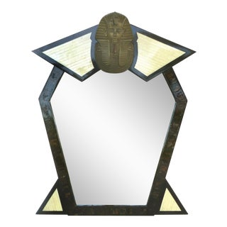 Enrique Garcel Horn, Bone & Bronze Mirror