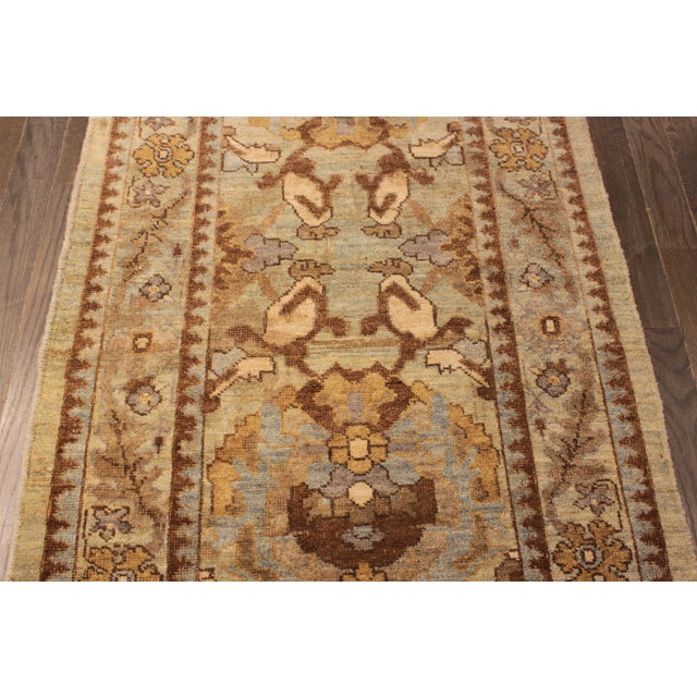 "Persian Sultanabad Rug - 3'2"" x 13'9"" - Image 8 of 10"