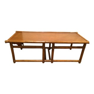 McGuire Furniture Company Bamboo Coffee Table