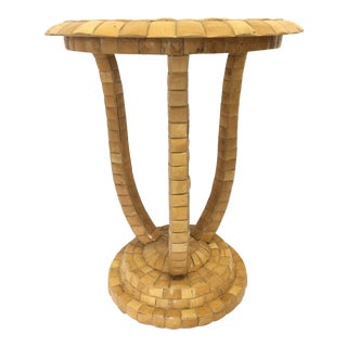 Maitland Smith Tiled Side Table