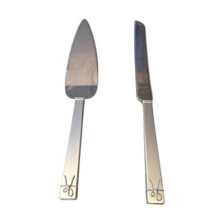 Vera Wang Love Knots Cake Knife & Server