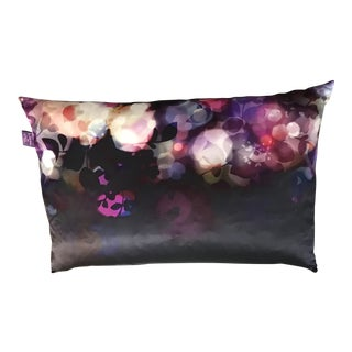 Fleur Enchantees Silk Throw Pillow