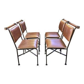 Rustic Modern Cleo Baldon Dining Chairs - Set of 4