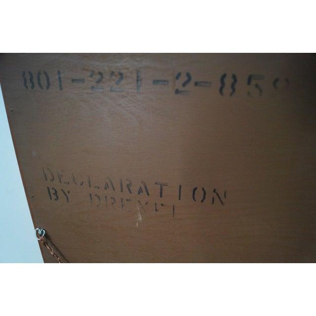 Drexel Declaration Vintage Walnut Wall Mirror - Image 6 of 10
