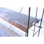 Image of Industrial Rusty Steel Metal Shelving Unit