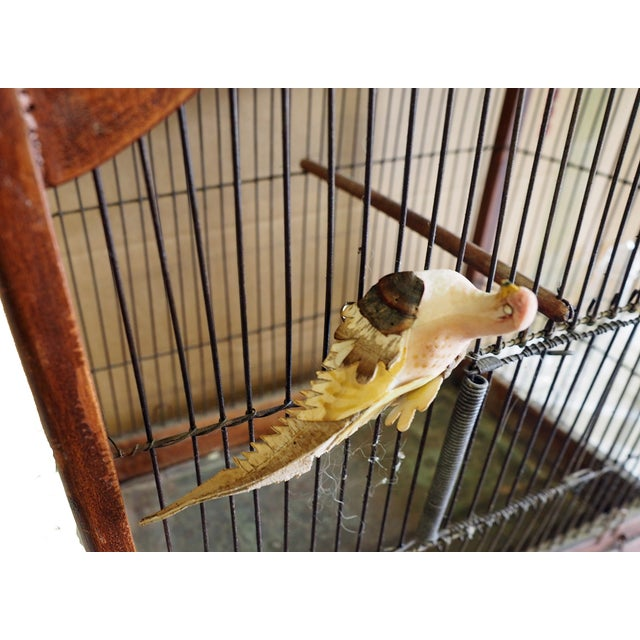 Antique 19th Century Victorian Cupola Bird Cage - Image 6 of 7