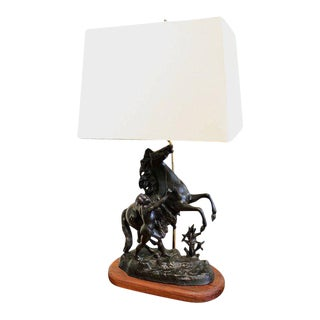 Cheval De Marly Lamp