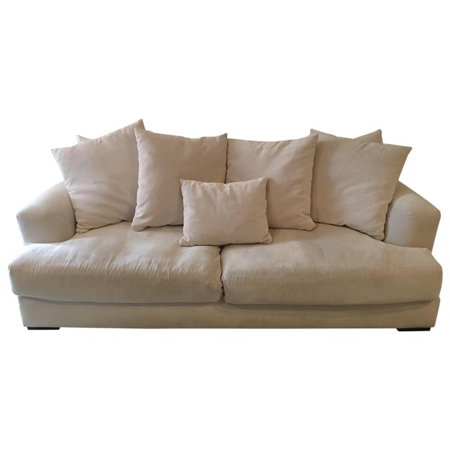 Z gallerie stella sofa chairish for Z gallerie sectional sofa