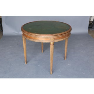 19th Century Directoire Game Table