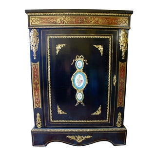 Authentic Meuble Boulle Napoléon III Cabinet