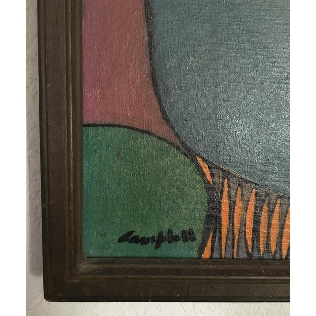 Richard Campbell Mid-Century Painting 1950s - Image 7 of 9
