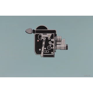 Vintage 16mm Bolex Filmmaker Camera Painting