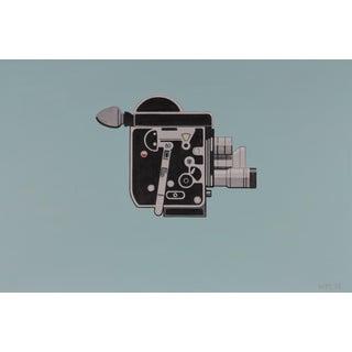 Vintage 16mm Bolex Filmmaker Camera Painting