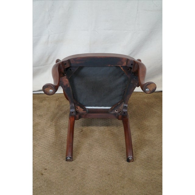 Hickory 18th Century Style Dining Chairs - S/6 - Image 9 of 10