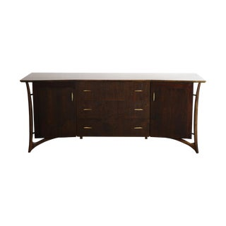 Piet Hein Sculptural Walnut Dresser Daniel Jones