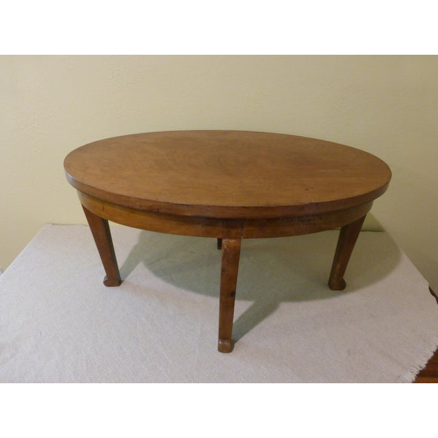 Small Walnut Coffee or Side Table - Image 2 of 6