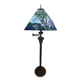 Stained Glass Tiffany Style Floor Lamp