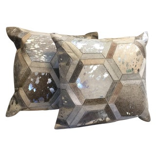 Modern Cowhide Pillow