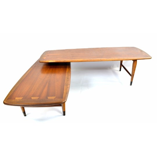 Used Lane Coffee Table: Lane Switchblade Two Sections Cocktail Table