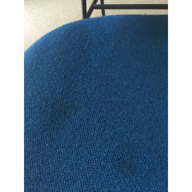 "Ib Kofod Larsen ""Penguin"" Chair in Blue - Image 11 of 11"