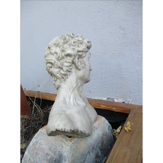 Neoclassical Vintage Cast Resin Bust - Image 5 of 11