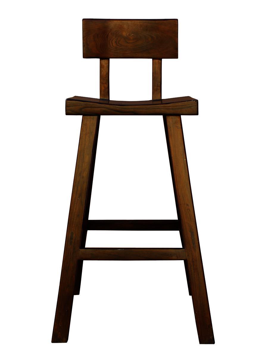 Handmade Solid Wood Bar Stool Chairish