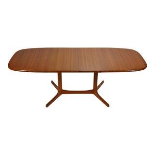Danish Teak Dining Table by Dyrlund