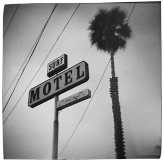 """Surf Motel"" Black & White Photograph"