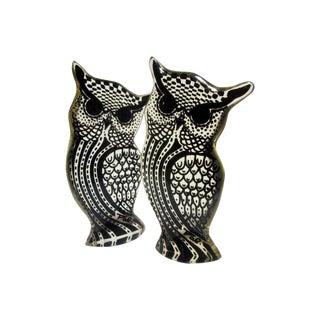 Palatnik Signed Lucite Owls - A Pair